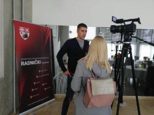 """Boba Kovač u Kragujevcu: """"Priprema utakmice u vrhunskoj odbojci"""""""