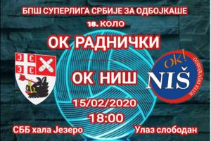 Read more about the article Meč sa Nišlijama kao uvertira za mini ligu