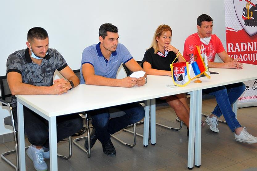 """Radnički dočekuje Niš pred praznim tribinama """"Jezera"""""""