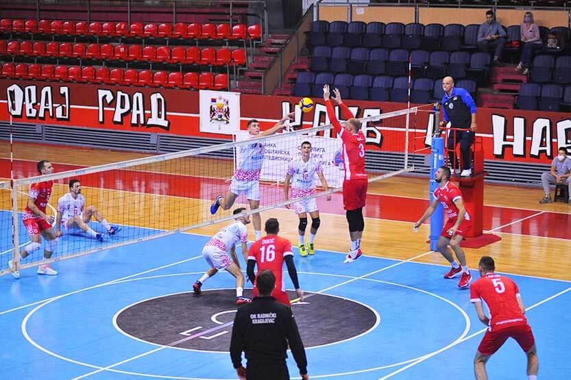 """Read more about the article Odbojkaši Radničkog """"overili"""" plasman u polufinale Kupa Srbije"""