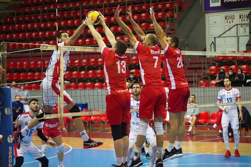 Read more about the article Odbojkaši Radničkog u Novom Sadu povlače prvi potez ka finalu Kupa Srbije