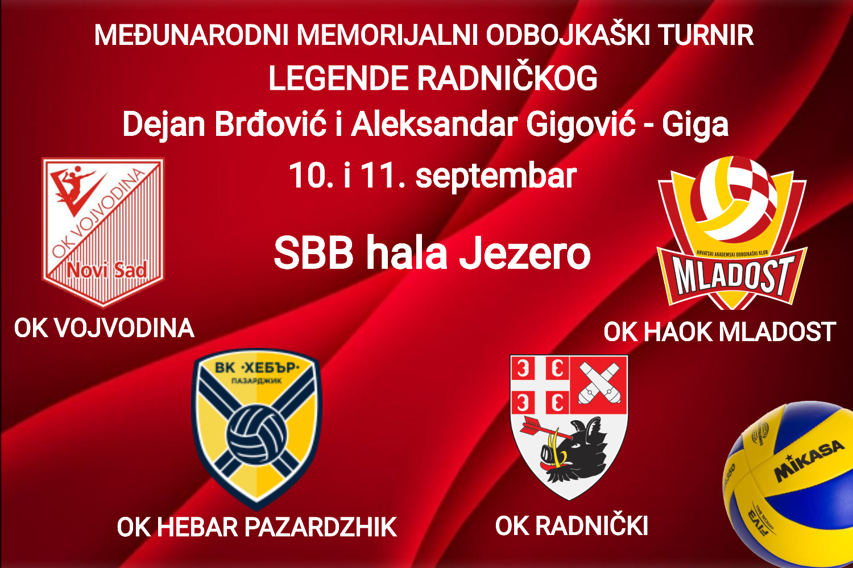 "You are currently viewing Memorijalni turnir ""Legende Radničkog"" – dvodnevni festival odbojke u Kragujevcu"