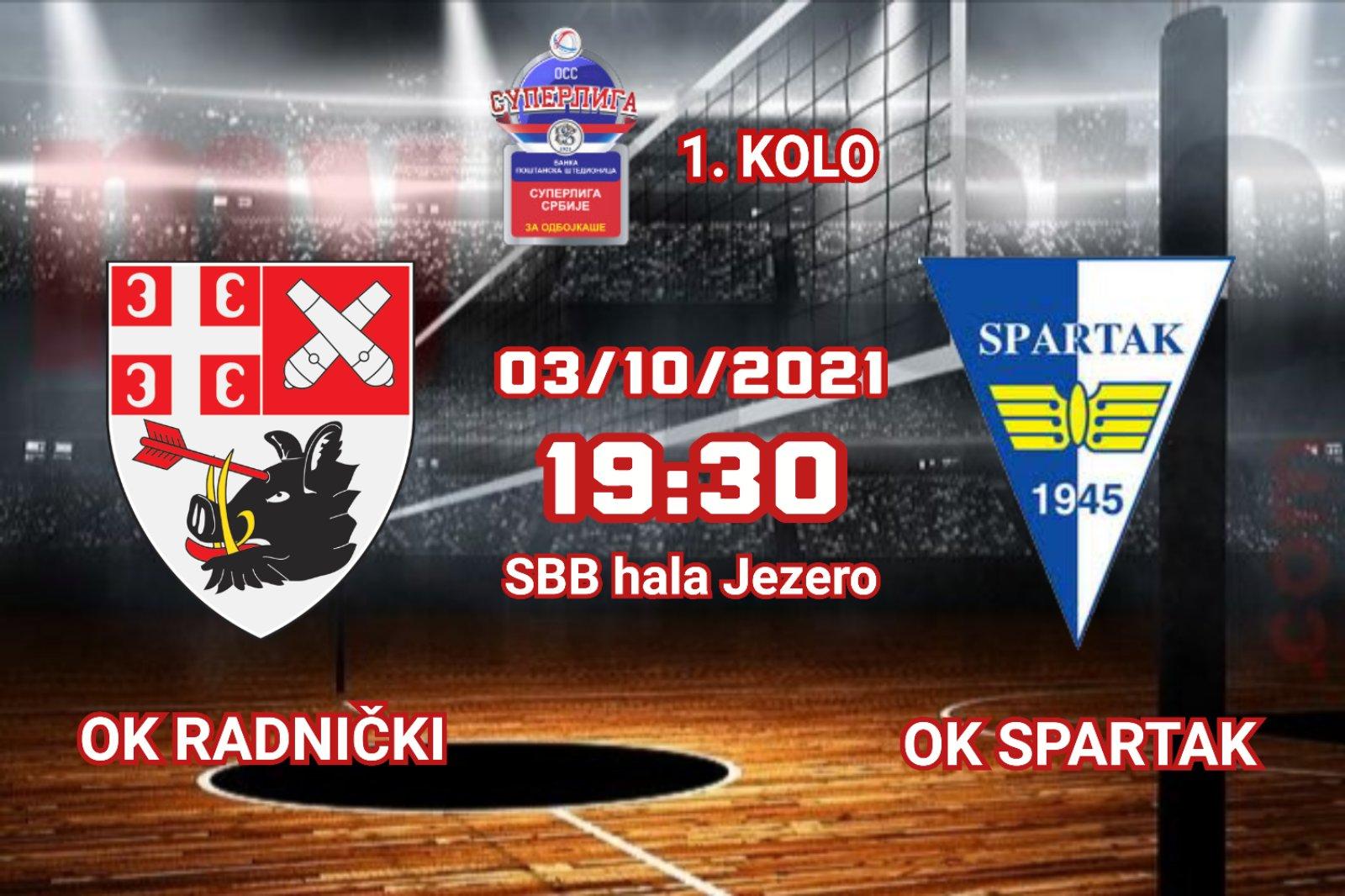 You are currently viewing Radnički dočekuje Spartak na startu šampionata